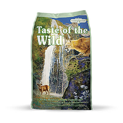 Taste of the Wild - Rocky Mountain Feline® Formula with Roasted Venison & Smoked Salmon