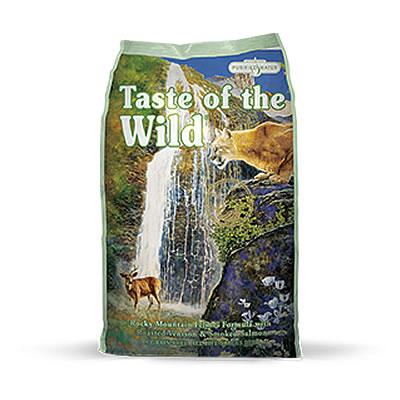Taste of the Wild - Rocky Mountain Feline® Formula with Roasted Venison & Smoked Salmon