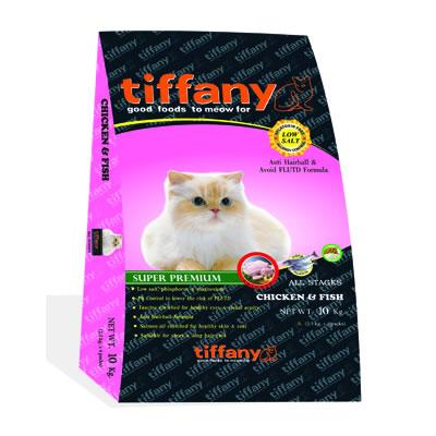 Tiffany - ทิฟฟานี ซุเปอร์พรีเมี่ยม สำหรับแมวทุกวัย (ชมพู)