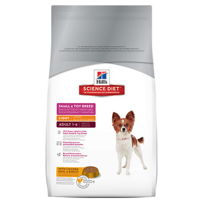 Hill's Science Diet - Adult 1-6 Light Small & Toy Breed