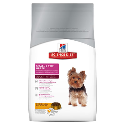 Hill's Science Diet Adult 1-6 Small & Toy Breed