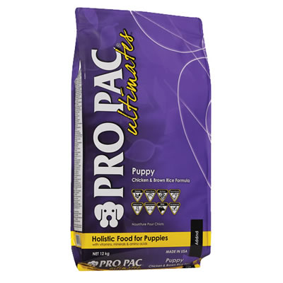 PRO PAC ultimates - Puppy Chicken Meal & Brown Rice Formula