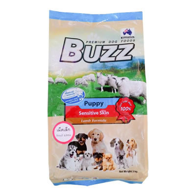 Buzz - Puppy Sensitive Skin - Lamb Formula - เม็ดเล็ก