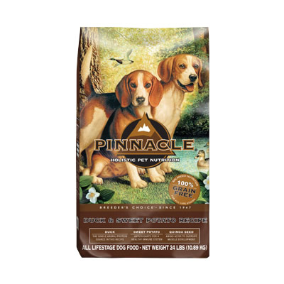 Pinnacle - Grain Free Duck & Sweet Potato Recipe