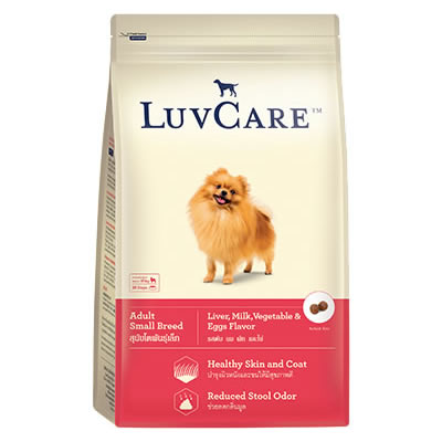 LuvCare - Adult Small Breed Liver, Milk, Vegetable and Eggs Flavors