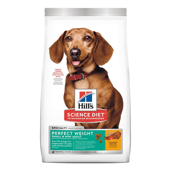 Hill's Science Diet Adult Perfect Weight Small & Toy Breed