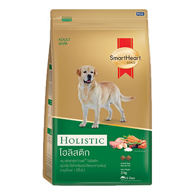 SmartHeart - SmartHeart Gold Holistic - สุนัขโต พันธุ์กลางถึงพันธุ์ใหญ่