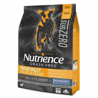 Nutrience SUBZERO - Fraser Valley - DOG