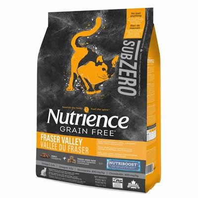 Nutrience SUBZERO - Fraser Valley - CAT