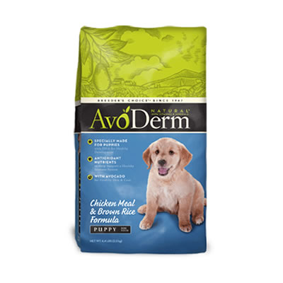 Avoderm - Puppy - Chicken Meal & Brown Rice
