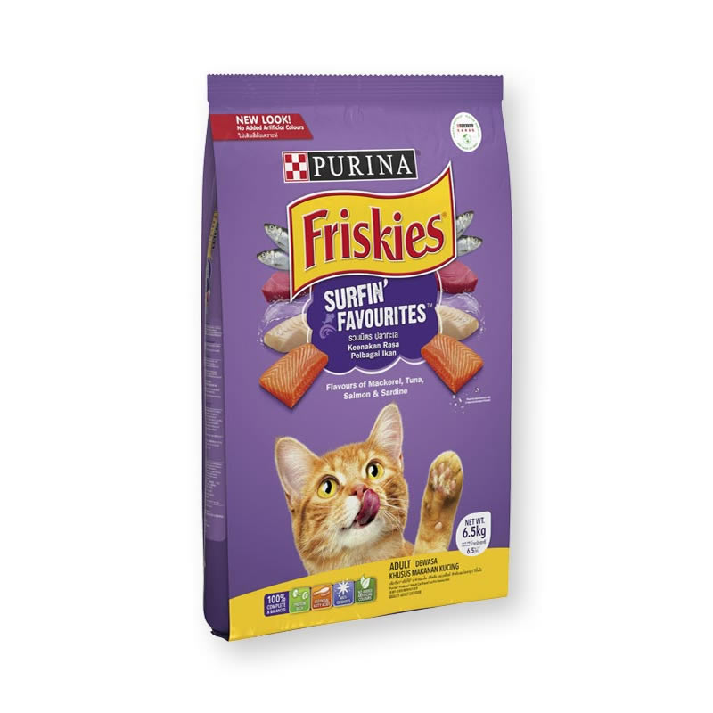 Friskies - Surfin' & Turfin' Favourites (ม่วง)