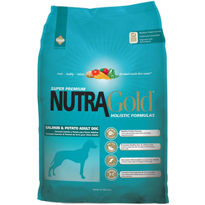 NutraGold - NutraGold Holistic Salmon And Potato for Adult Dog
