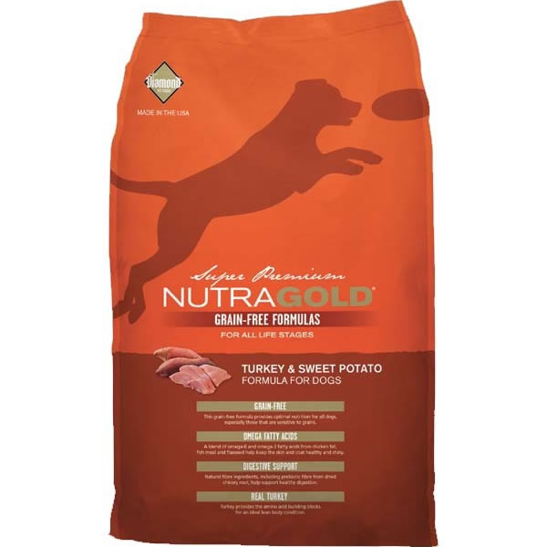 NutraGold - NutraGold Grain-free Turkey & Sweet Potato