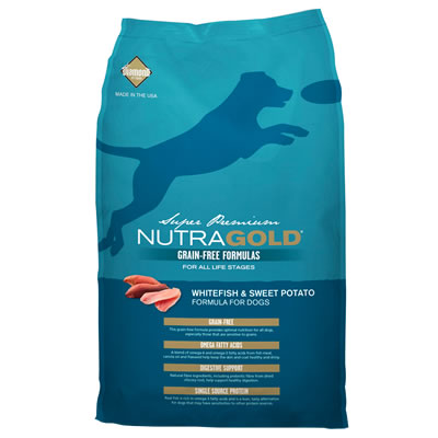 NutraGold - NutraGold Grain-free White Fish & Sweet Potato