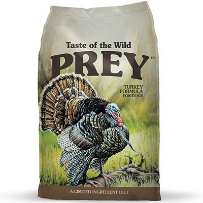 Taste of the Wild - PREY - Turkey Limited Ingredient Formula for dog