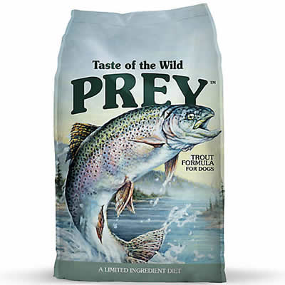 Taste of the Wild - PREY - Trout Limited Ingredient Formula for dog