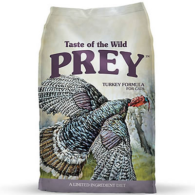 Taste of the Wild - PREY - Turkey Limited Ingredient Formula for cat