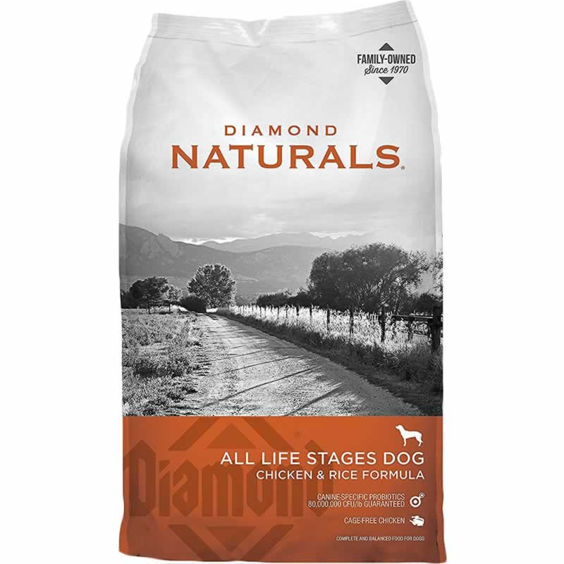 Diamond - Diamond Natural - ALL LIFE STAGES DOG  CHICKEN & RICE FORMULA