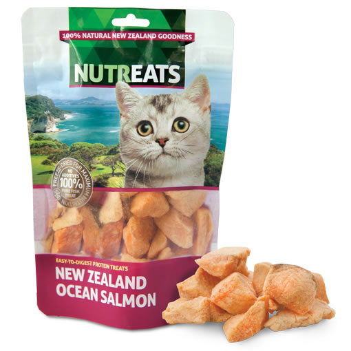 NUTREATS - NEW ZEALAND OCEAN SALMON FELINE