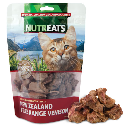 NUTREATS - NEW ZEALAND FREE RANGE VENISON FELINE