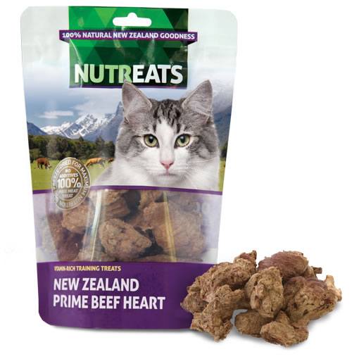 NUTREATS - NEW ZEALAND BEEF HEART FELINE