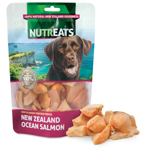 NUTREATS - NEW ZEALAND OCEAN SALMON
