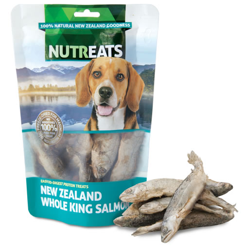 NUTREATS - NEW ZEALAND WHOLE KING SALMON