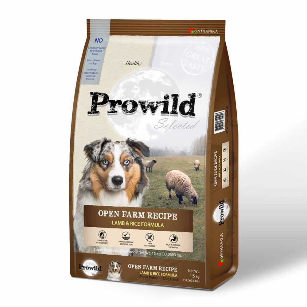 Prowild - Prowild Selected Open Farm Recipe - Lamb & Rice Formula