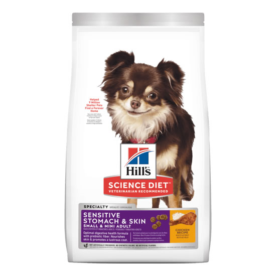 Hill's Science Diet - Adult Sensitive Stomach & Skin Small & Mini Breed