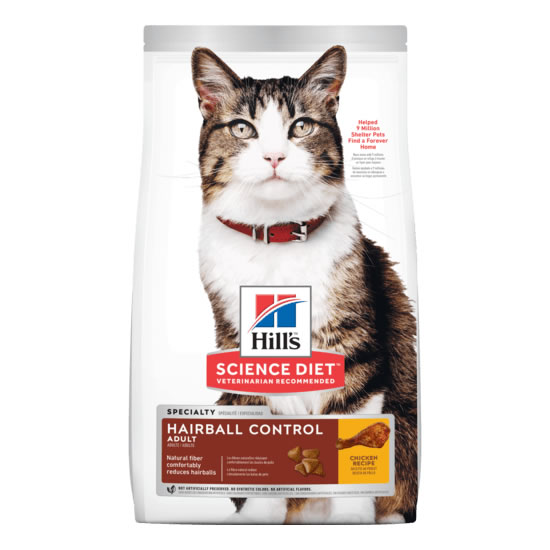 Hill's Science Diet - Adult 1-6 Hairball Control Chicken Recipe (แมว)