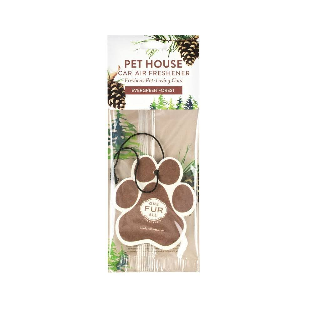 PET HOUSE - Pet House Car Air Freshener - Evergreen Forest