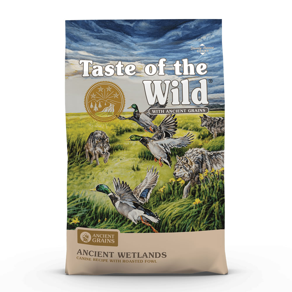 Taste of the Wild - Ancient Wetlands Canine Recipe with Roasted Fowl