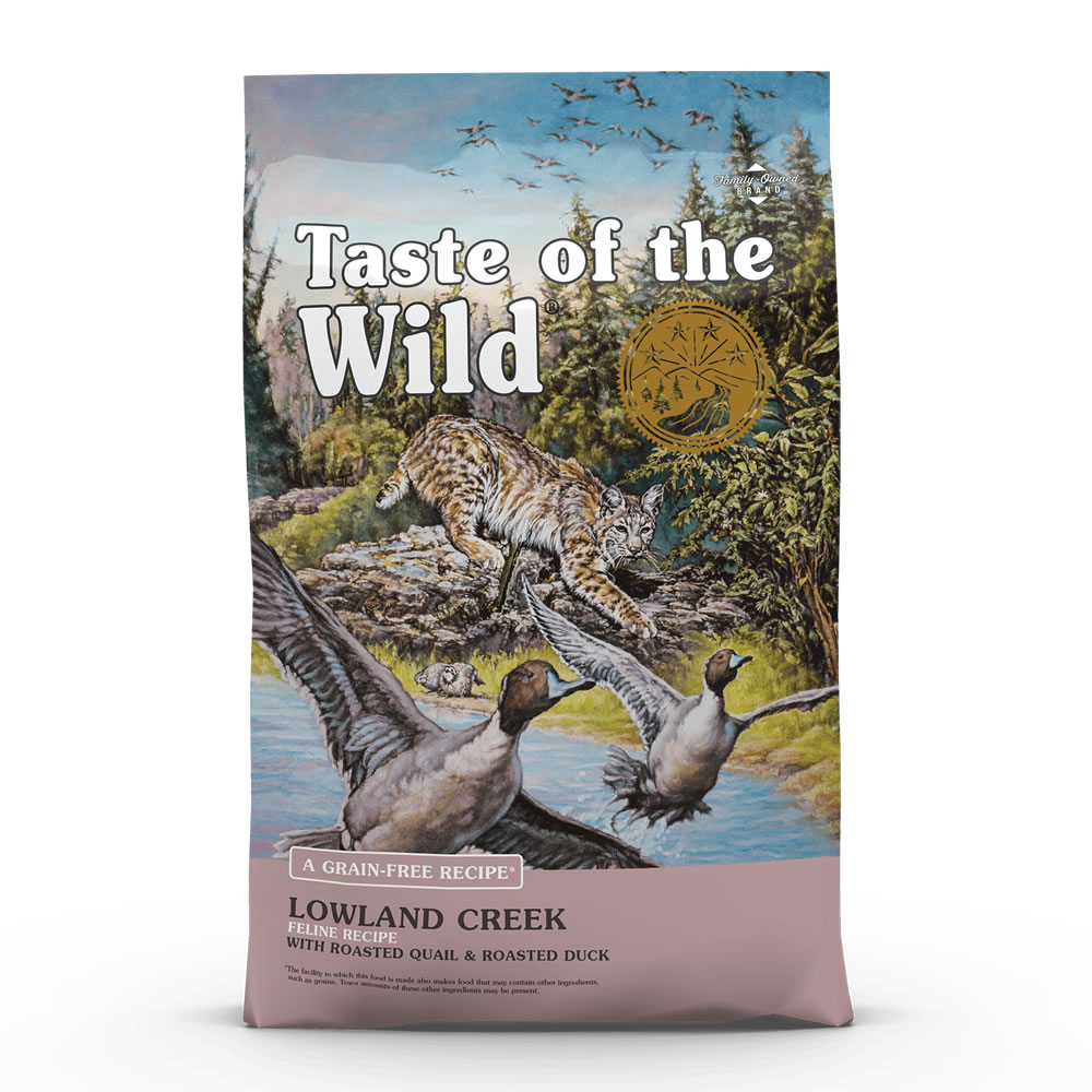 Taste of the Wild - Lowland Creek Feline Recipe with Roasted Quail & Roasted Duck